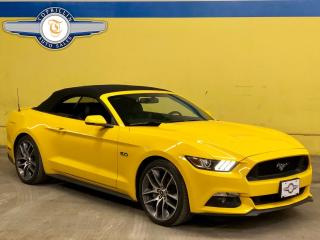 Used 2015 Ford Mustang GT Premium, 6 Speed Manual for sale in Vaughan, ON