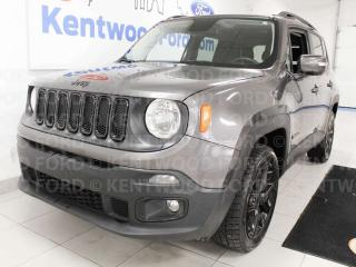 Used 2016 Jeep Renegade Renegade 4WD, heated power leather seats, heated steering wheel, back up cam for sale in Edmonton, AB
