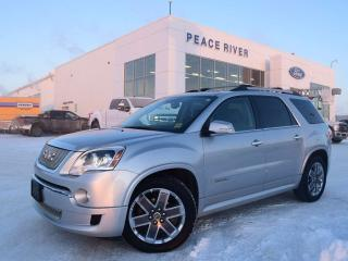 Used 2011 GMC Acadia Denali for sale in Peace River, AB