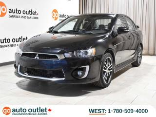 Used 2016 Mitsubishi Lancer GTS ; AUTO, LEATHER HEATED SEATS, BACKUP CAMERA, SUNROOF, PREMIUM SOUND for sale in Edmonton, AB