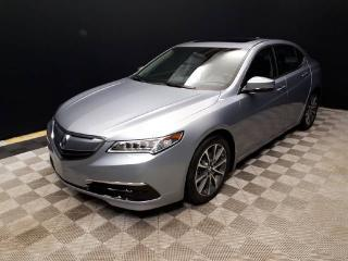 Used 2015 Acura TLX TECH | AWD | NAV | Remote Start | Lane Keep | Heated F/R Leather Seats for sale in Edmonton, AB