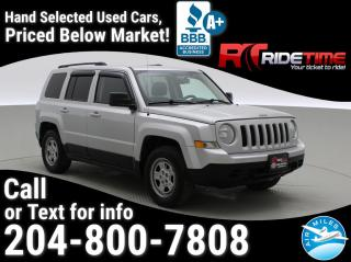 Used 2012 Jeep Patriot SPORT for sale in Winnipeg, MB