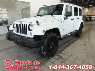 Used 2015 Jeep Wrangler 4WD 4dr Wrangler Unlimited Sahara  X  Au for sale in St-Jean-Sur-Richelieu, QC