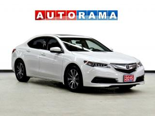 Used 2015 Acura TLX LEATHER SUNROOF BACK UP CAMERA for sale in Toronto, ON