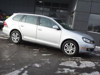 Used 2011 Volkswagen Golf Wagon HIGHLINE|NAVI|PANOROOF|LEATHER|ALLOYS for sale in Toronto, ON