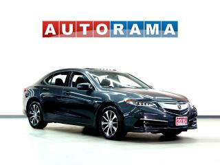 Used 2015 Acura TLX TECH PKG NAVIGATION LEATHER SUNROOF BACK UP CAM for sale in Toronto, ON