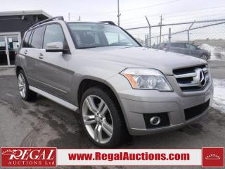Used 2010 Mercedes-Benz GLK350 4D Utility 4MATIC AWD for sale in Calgary, AB