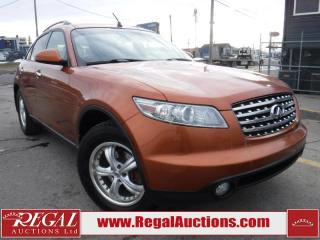 Used 2003 Infiniti FX45 4D Utility AWD for sale in Calgary, AB