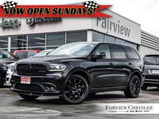 Used 2018 Dodge Durango GT l BLACKTOP PKG l DVD l SUNROOF l NAV l for sale in Burlington, ON