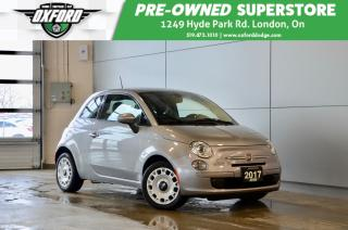 Used 2017 Fiat 500 Pop - One Owner, Gold Plan Warranty, Rust Protecti for sale in London, ON