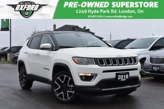 Used 2018 Jeep Compass Limited 4X4 for sale in London, ON