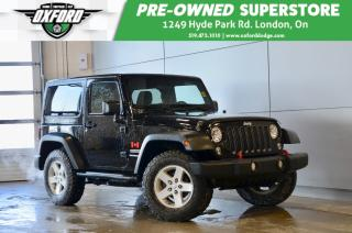 Used 2015 Jeep Wrangler Sport - One Owner, Dual Tops, Serviced at Oxford d for sale in London, ON