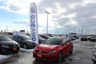 Used 2015 Volkswagen GTI 5-Door Autobahn for sale in Whitby, ON