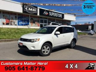 Used 2009 Mitsubishi Outlander LS  AWD 7-PASS BT HS P/SEAT for sale in St. Catharines, ON
