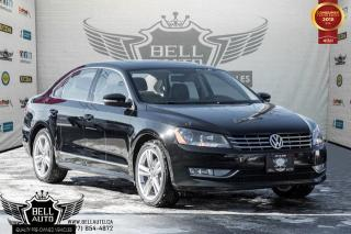 Used 2015 Volkswagen Passat Highline, NAVI, BACK-UP CAM, SUNROOF, BLUETOOTH, LEATHER, HEATED SEATS for sale in Toronto, ON