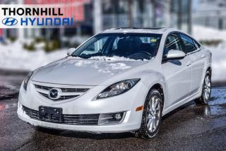Used 2011 Mazda MAZDA6 GT-I4  - Heated Seats -  Bluetooth for sale in Thornhill, ON