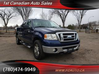 Used 2008 Ford F-150 XLT-CREW-4X4-ACCIDENT FREE-LOW Monthly PAYMENTS!! for sale in Edmonton, AB