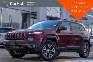 Used 2018 Jeep Cherokee Trailhawk Leather Plus|4x4|Pano_Sunroof|Backup_Cam|SiriusXM|17