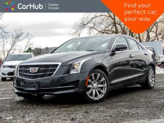 Used 2018 Cadillac ATS Sedan Luxury AWD|Navi|Sunroof|Backup Cam|Bluetooth|R-Start|Leather|17