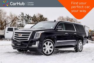 Used 2017 Cadillac Escalade ESV Premium Luxury|4x4|Only 9168 Km|7 Seater|Navi|Sunroof|DVD|Blind Spot|R-Start|22