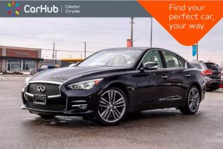 Used 2015 Infiniti Q50 |AWD|Navi|Sunroof|Backup Cam|Bluetooth|Leather|Push Start|19