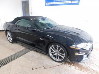 Used 2018 Ford Mustang GT Premium *CONVERTIBLE* LEATHER NAVI for sale in Listowel, ON