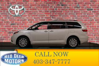 Used 2017 Toyota Sienna AWD XLE Leather Roof Nav for sale in Red Deer, AB