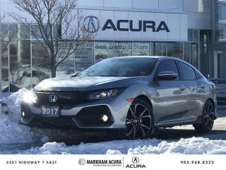 Used 2017 Honda Civic Hatchback Sport HS CVT for sale in Markham, ON