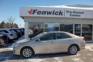 Used 2014 Toyota Camry 4-Door Sedan XLE 6A for sale in Sarnia, ON