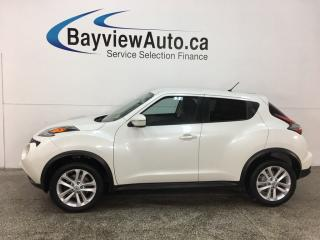 Used 2015 Nissan Juke SV - REVERSE CAM! BLUETOOTH! CRUISE! A/C! ALLOYS! for sale in Belleville, ON