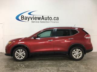 Used 2016 Nissan Rogue SV - AWD! PUSH START! BLUETOOTH! REVERSE CAM! ALLOYS! for sale in Belleville, ON