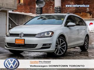 Used 2015 Volkswagen Golf Sportwagon HIGHLINE MULTIMEDIA PKG for sale in Toronto, ON