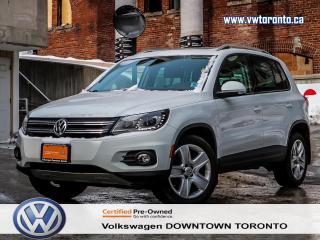Used 2015 Volkswagen Tiguan COMFORLTINE TECHNOLOGY PKG APPEARANCE PKG for sale in Toronto, ON