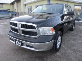 Used 2015 Dodge Ram 1500 WORK READY SLT MODEL 6 PASSENGER 5.7L - HEMI.. 4X4.. CREW.. SHORTY.. BACK-UP CAMERA.. AUX/USB INPUT.. for sale in Bradford, ON