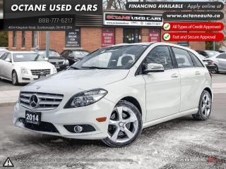 Used 2014 Mercedes-Benz B-Class Sports Tourer Accident Free! Ontario Vehicle! for sale in Scarborough, ON