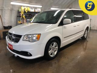 Used 2016 Dodge Grand Caravan Crew Plus * Dual DVD screens * Leather * Power Sliding Doors * Power lift gate * Power mid row Windows/Rear Vents * Reverse camera  * Stow and go * U for sale in Cambridge, ON
