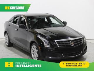 Used 2014 Cadillac ATS AWD A/C GR ÉLECT for sale in St-Léonard, QC