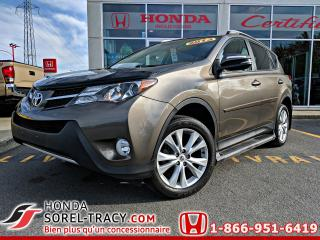 Used 2013 Toyota RAV4 Traction intégrale 4 portes Limited for sale in Sorel-Tracy, QC