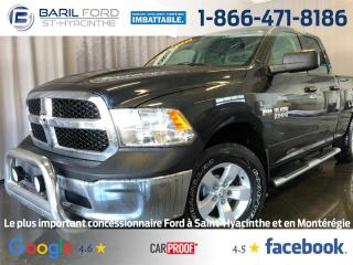 Used 2014 RAM 1500 AWD QUAD CAB 140.5 for sale in St-Hyacinthe, QC
