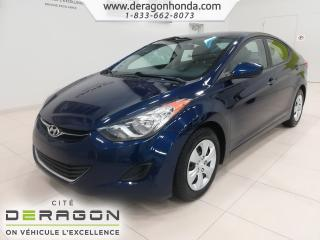 Used 2013 Hyundai Elantra L for sale in Cowansville, QC