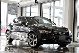 Used 2016 Audi A3 2.0T quattro for sale in Vaudreuil-Dorion, QC