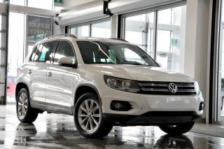 Used 2015 Volkswagen Tiguan COMFORTLINE for sale in Vaudreuil-Dorion, QC