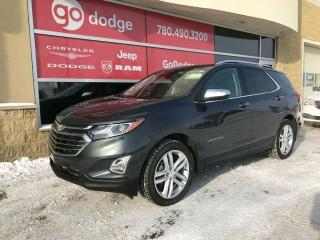 Used 2018 Chevrolet Equinox Premier AWD / Panoramic Sunroof / GPS Navigation / Back Up Camera for sale in Edmonton, AB