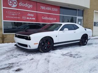 Used 2017 Dodge Challenger SRT Hellcat / GPS Navigation / Sunroof / Back Up Camera for sale in Edmonton, AB