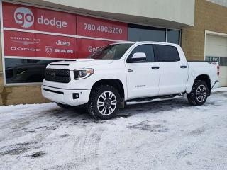 Used 2018 Toyota Tundra TRD 4x4 Sport / Sunroof / Back Up Camera for sale in Edmonton, AB