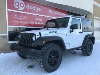 Used 2015 Jeep Wrangler SPORT for sale in Edmonton, AB