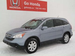 Used 2007 Honda CR-V EX-L AWD, LEATHER for sale in Edmonton, AB