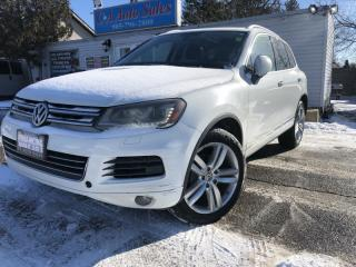 Used 2014 Volkswagen Touareg 4dr TDI DIESEL HIGHLINE ACCIDENT FREE ONTARIO for sale in Brampton, ON