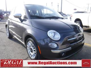 Used 2014 Fiat 500 2D Hatchback for sale in Calgary, AB
