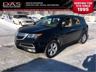 Used 2010 Acura MDX LEATHER/SUNROOF/7 PASS for sale in North York, ON
